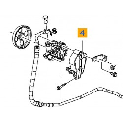 Łapa, mocowanie pompy wspomagania INSIGNIA, ASTRA J (1.6,1.8)