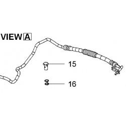 Wąż, przewód wspomagania z pompy do przekładni INSIGNIA 2.0 ( 4X4)