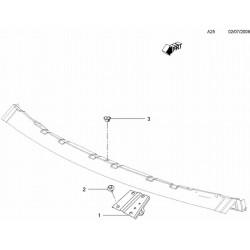 Przegroda przednia i belka deski rozdzielczej (A25)