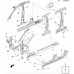 Bok nadwozia i ściana boczna (A50)