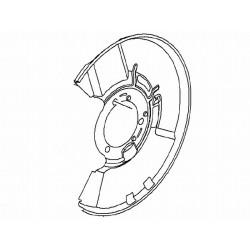 Osłona tarczy hamulcowej przód INSIGNIA (lewa)(18+ cali)