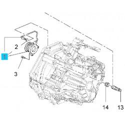 Wysprzęglik, łożysko oporowe skrzyni biegów GM55563646 (Opel Astra J, Cascada, Insignia, Zafira C)