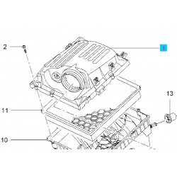 Obudowa górna filtra powietrza 13296367 (Opel Insignia)