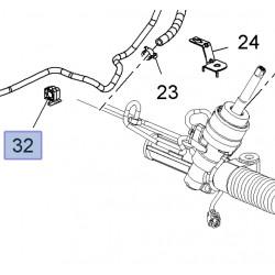 Zacisk, spinka węża przekładni układu kierowniczego 11611350 (Insignia)