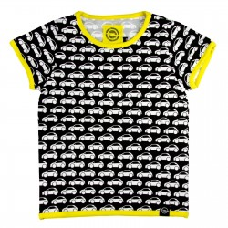 Stylowy T-shirt z nadrukiem Opel Adam