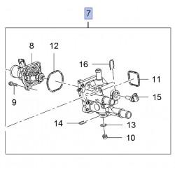 Termostat z obudową 1.6, 1.8 (Astra J, Mokka, Insignia A, Zafira C)