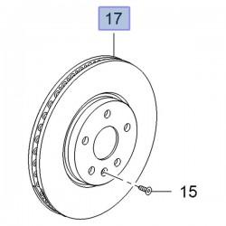 Tarcza hamulcowa przednia 321mm (Insignia A)