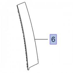 Nakładka słupka tylnego, prawa 13464468 (Insignia A)