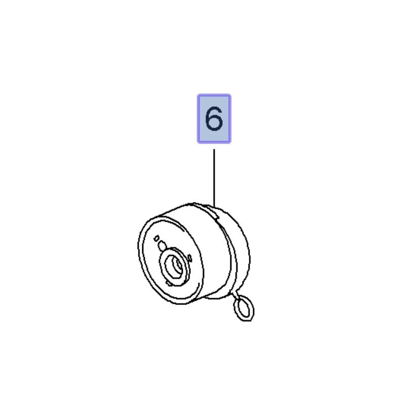 Napinacz paska rozrządu 1.6, 1.8 55574864 (Astra H, J, Corsa D, E, Insignia A, Mokka, Sigum, Vectra C, Zafira B, C)