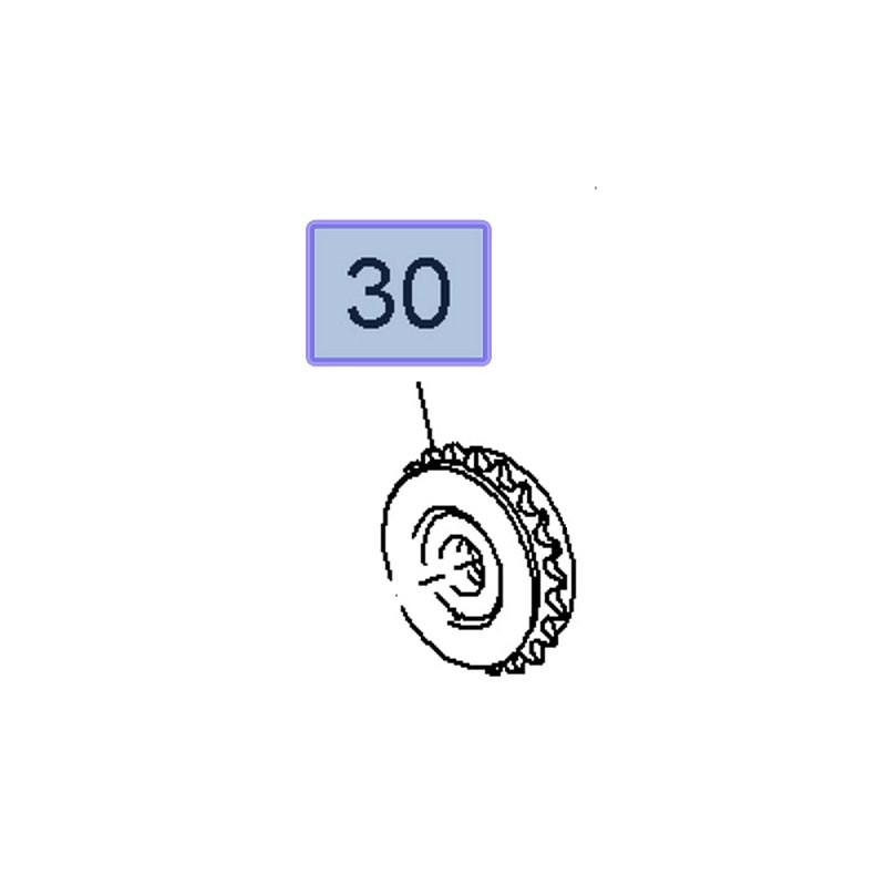 Koło zębate zmiennych faz rozrządu 55354438 (Astra G, H, J, Insignia A, Signum, Vectra C, Zafira B)