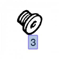 Śruba TORX M20x15 11099231 (Adam, Agila A, Astra G, H, J, Corsa B, C, D, E, Insignia A, Mokka, Tigra B, Zafira C)