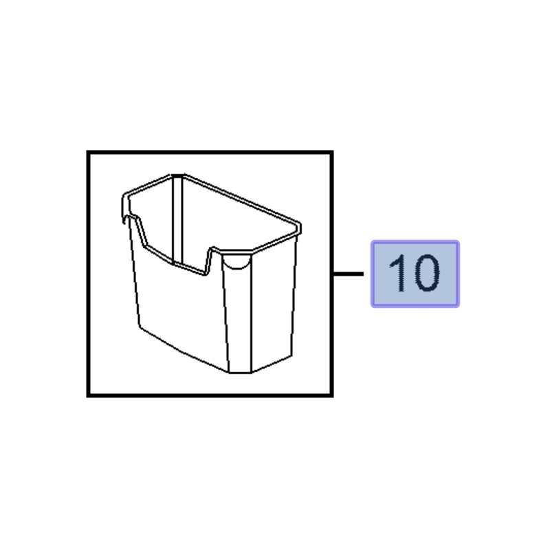 Pojemnik, organizer bagażnika 16163224 (Astra H, J, K, Insignia A, Zafira B, C)