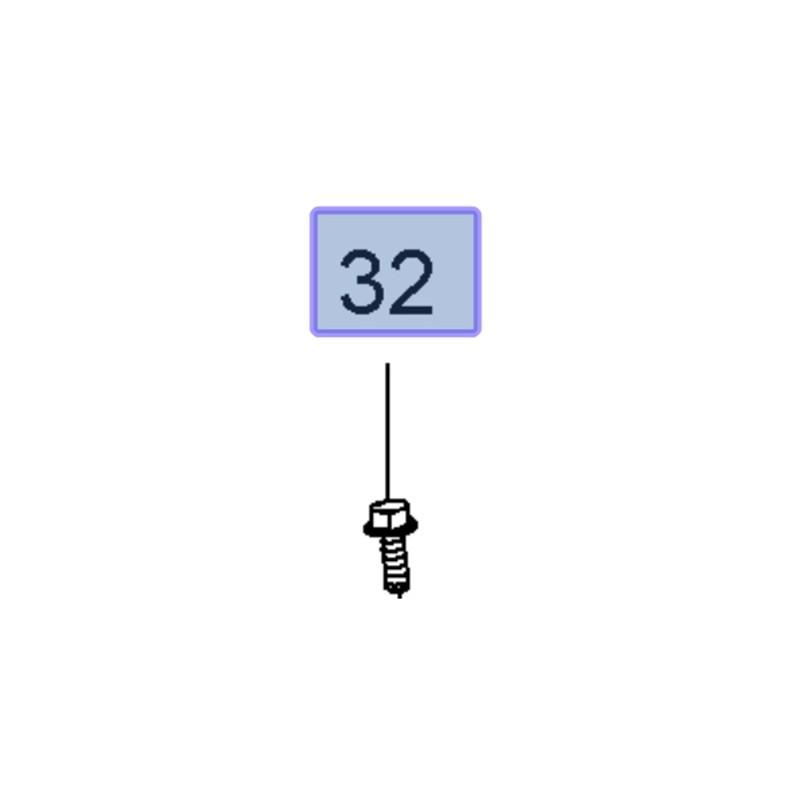 Śruba M6 X 18 wielu zastosowań 55579231 (Astra J, Cascada, Insignia A, Zafira C)