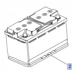 Akumulator 12V 80AH (Astra J, Cascada, Insignia A, B, Zafira C)