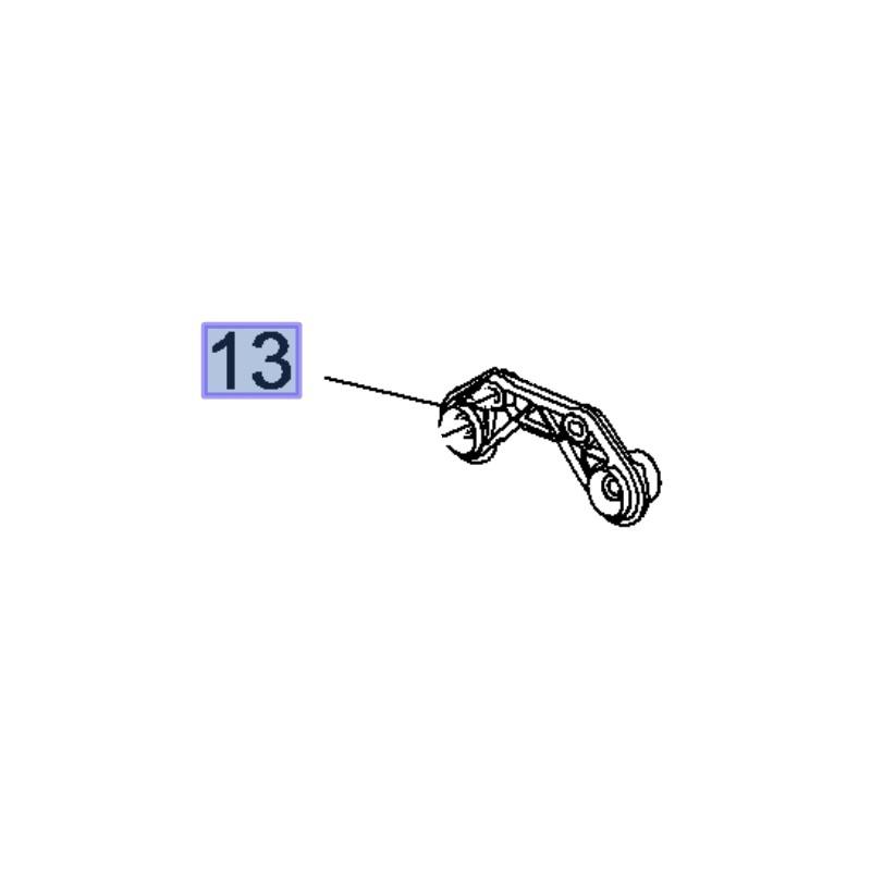 Wieszak tłumika końcowego 23156335 (Insignia B)