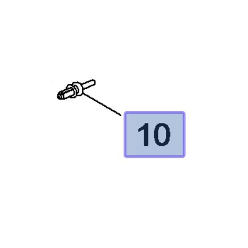 Ustalacz klapy bagażnika 13438262 (Astra K, Insignia B)