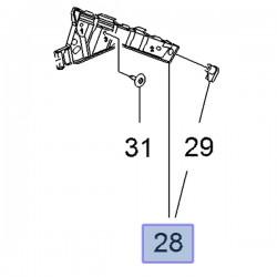 Ślizg przedniego zderzaka 22798555 (Insignia A)
