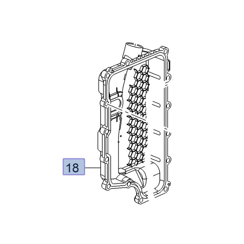 Pokrywa elektrozaworu skrzyni biegów 24265264 (Insignia A)