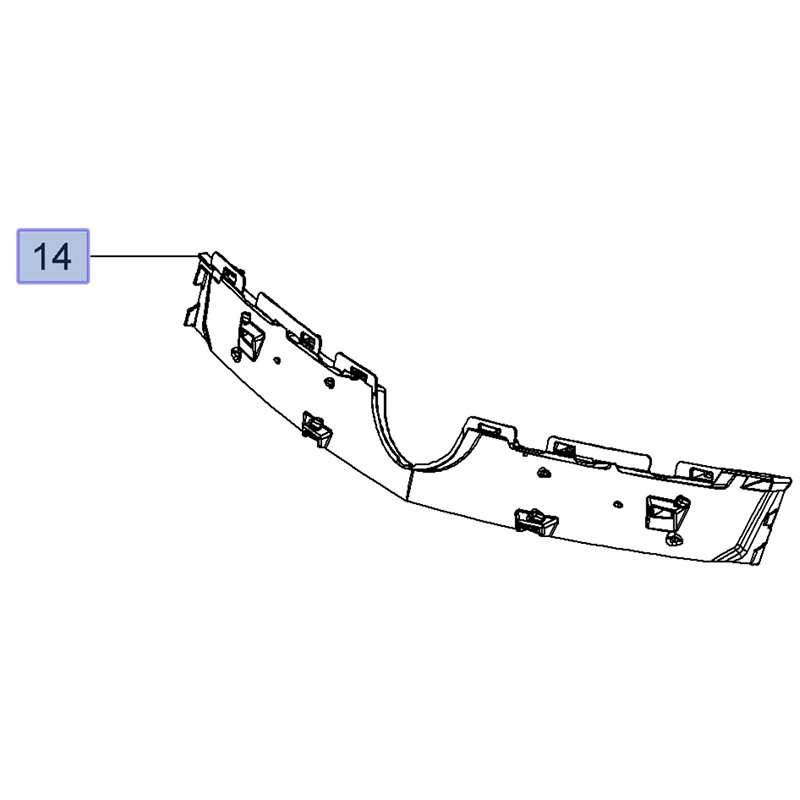 Kratka chłodnicy 13481491 (Insignia A)