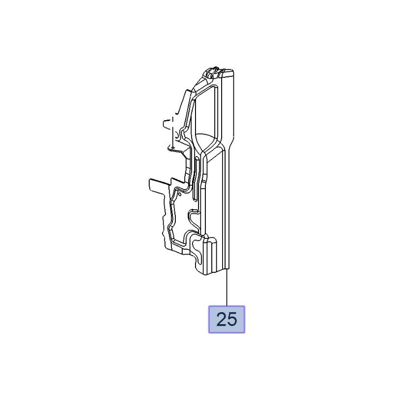 Przewodnik przepływu powietrza 22794686 (Insignia A)