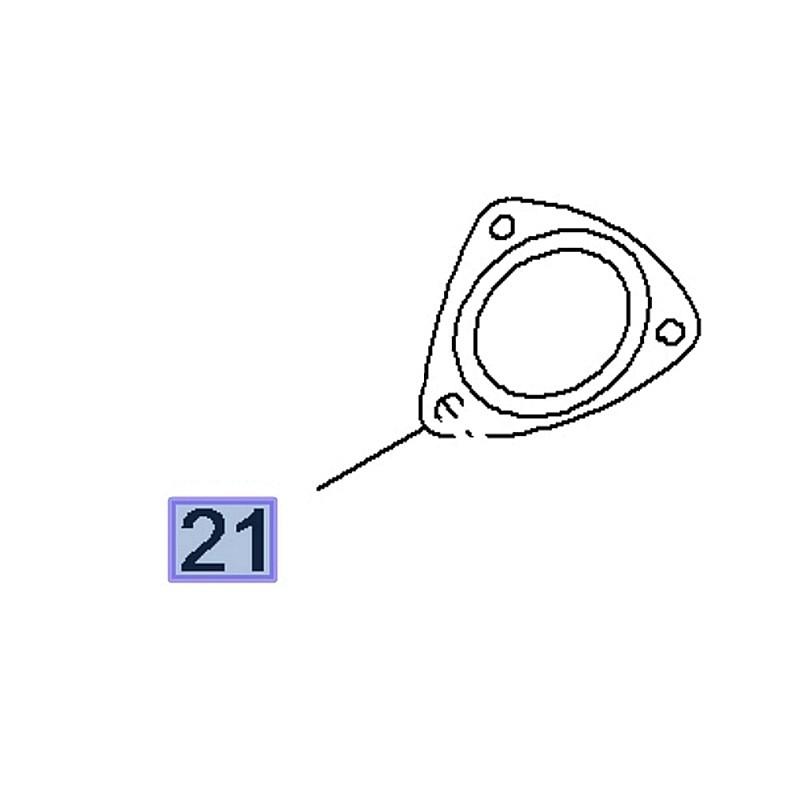 Uszczelka rury wydechowej 13255811 (Antara, Astra J, Cascada, Insignia A, B, Zafira C)