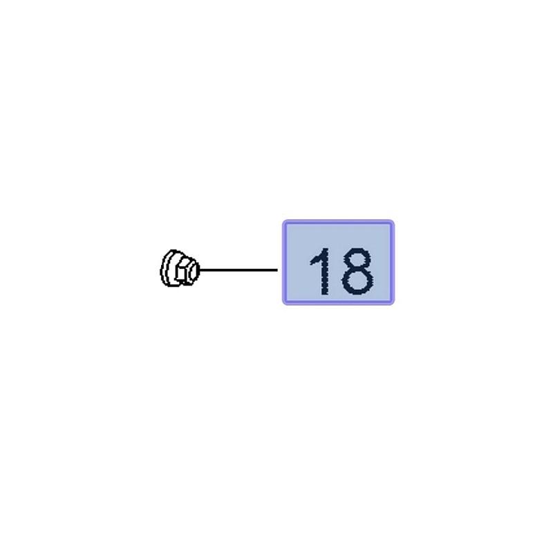 Nakrętka łącznika stabilizatora 11547349 (Insignia B)