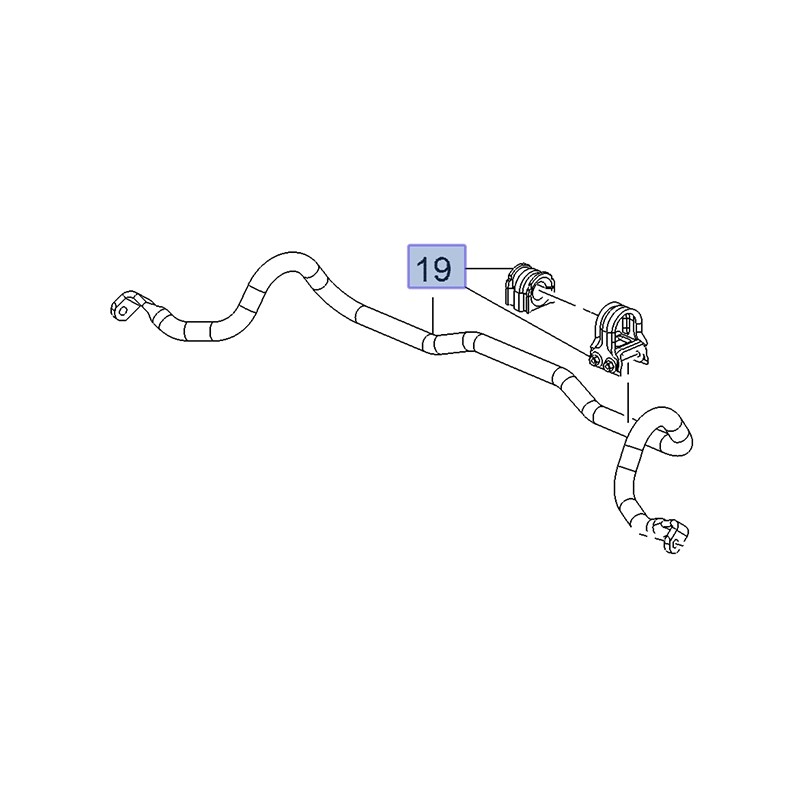 Stabilizator przedni 84144882 (Insignia B)