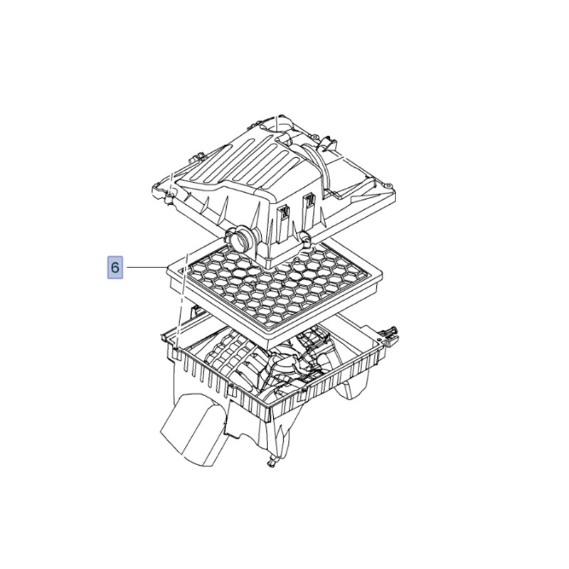 Filtr powietrza 95528305 (Insignia A)