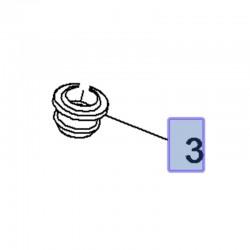 Odbój obudowy filtra powietrza 9129705 (Adam, Astra H, J, K, Insignia A, Mokka, Zafira B, C)