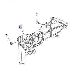 Kanał powietrzny obudowy filtra 84262658 (Insignia B)