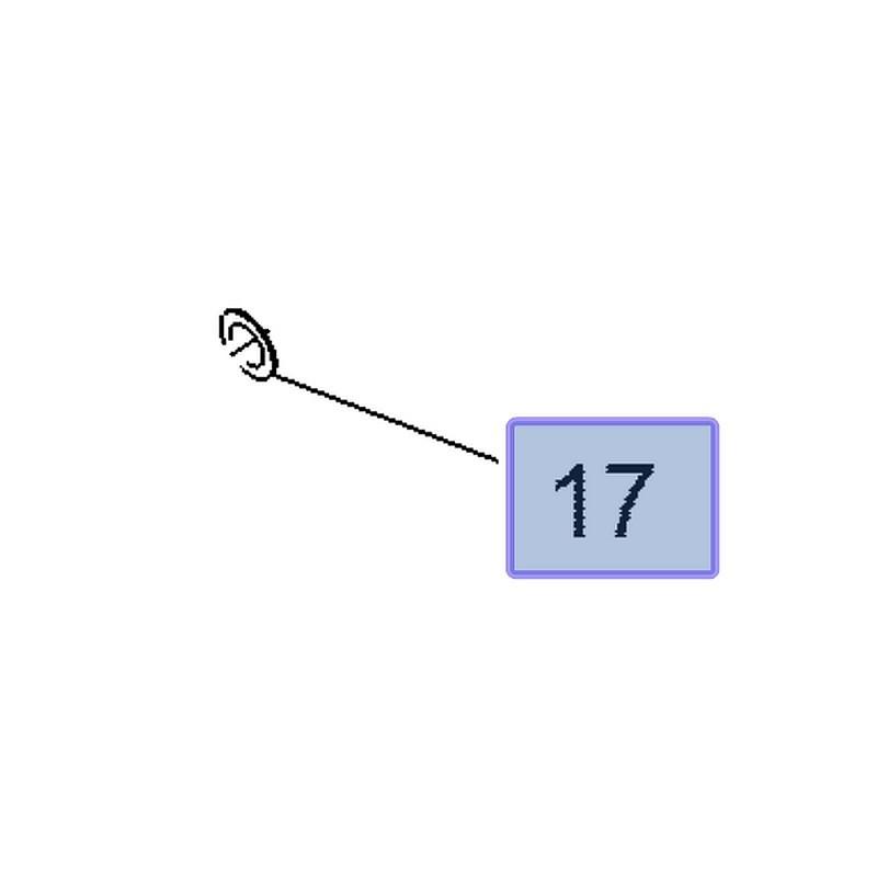 Uszczelka przewodu olejowego 12642685 (Antara, Cascada, Insignia A, B, Zafira C)