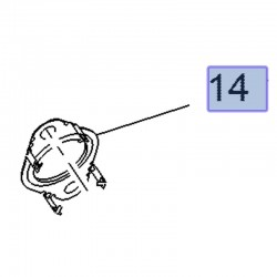 Uszczelka rury EGR 55584218 (Antara, Cascada, Insignia A, B, Zafira C)