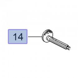 Śruba regulacyjna zawieszenia tylnego 11548279 (Insignia B)