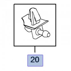 Łącznik węża, przewodu spryskiwacza 39093492 (Insignia B)