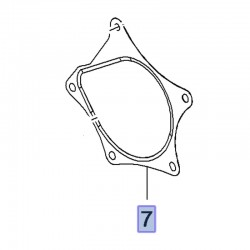 Uszczelka pompy wody 1.0, 1.4 12635751 (Adam, Astra K, Corsa E, Insignia B, Mokka X)