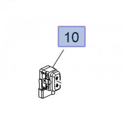 Przełącznik regulacji wysokości fotela przedniego 13282592 (Astra K, Crossland X, Insignia B)