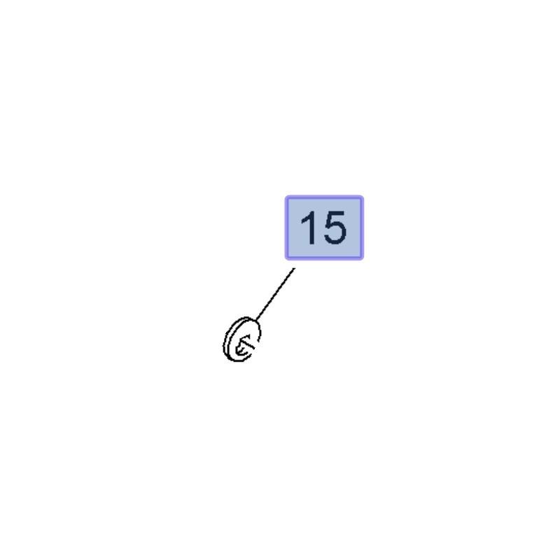 Podkładka śruby wahacza tylnego 13251097 (Insignia A)