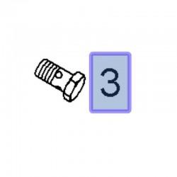 Śruba przelotowa M14 13277742 (Astra G, H, J, Corsa D, E, Insignia A, Meriva A, Zafira B, C)